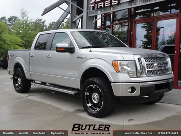 Ford F150 with 20in XD Spy Wheels
