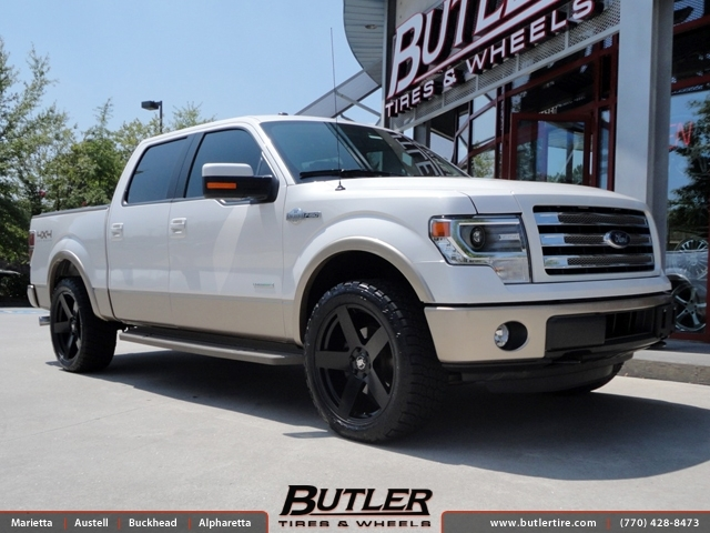 Ford F150 with 22in Black Rhino Everest Wheels exclusively from Butler