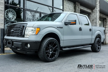 Ford F150 with 22in Black Rhino Mala Wheels