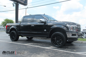 Ford F150 with 22in Black Rhino Morocco Wheels