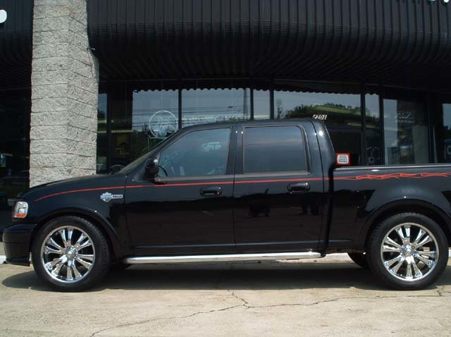 Ford F150 with 22in DOA Toe Tag Wheels