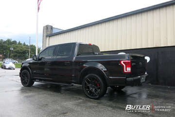 Ford F150 with 22in DUB Royalty Wheels
