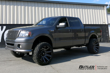 Ford F150 with 22in Fuel Contra Wheels