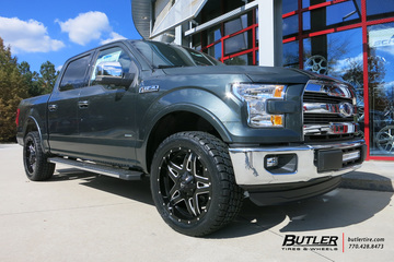 Ford F150 with 22in Fuel Full Blown Wheels