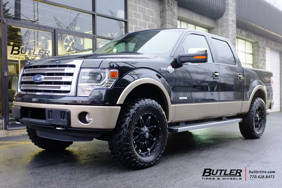 Ford F150 with 22in Fuel Hostage Wheels