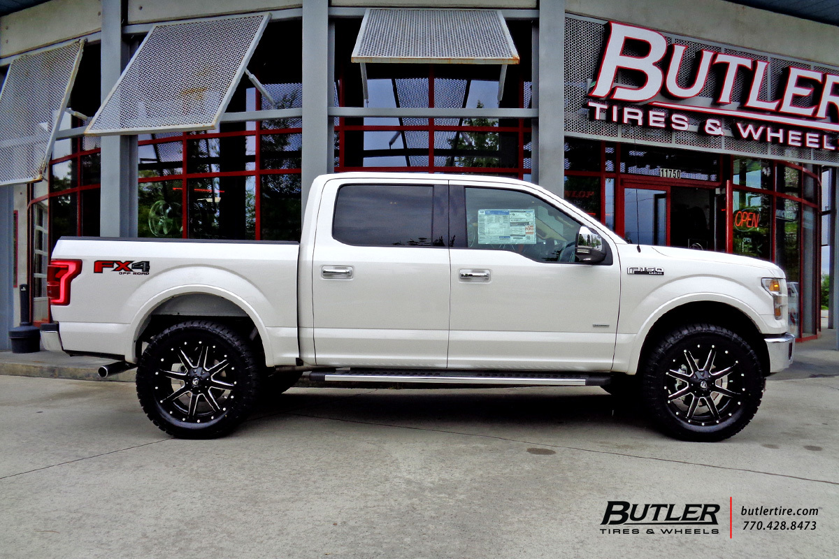 ford f150 with 22in fuel maverick wheels - Ford F150 Wheels