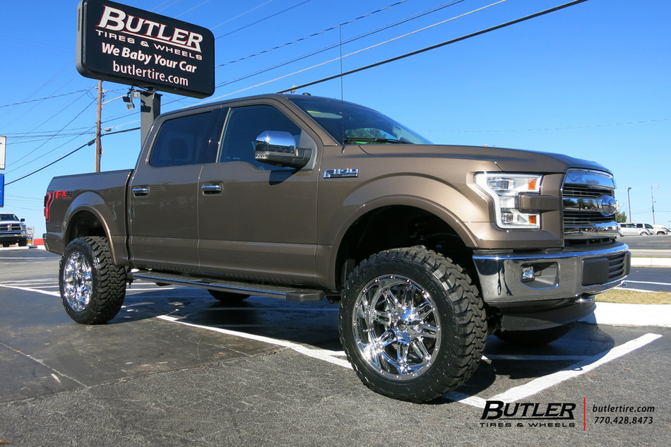 Ford F150 With 22in Fuel Hostage Wheels Exclusively From