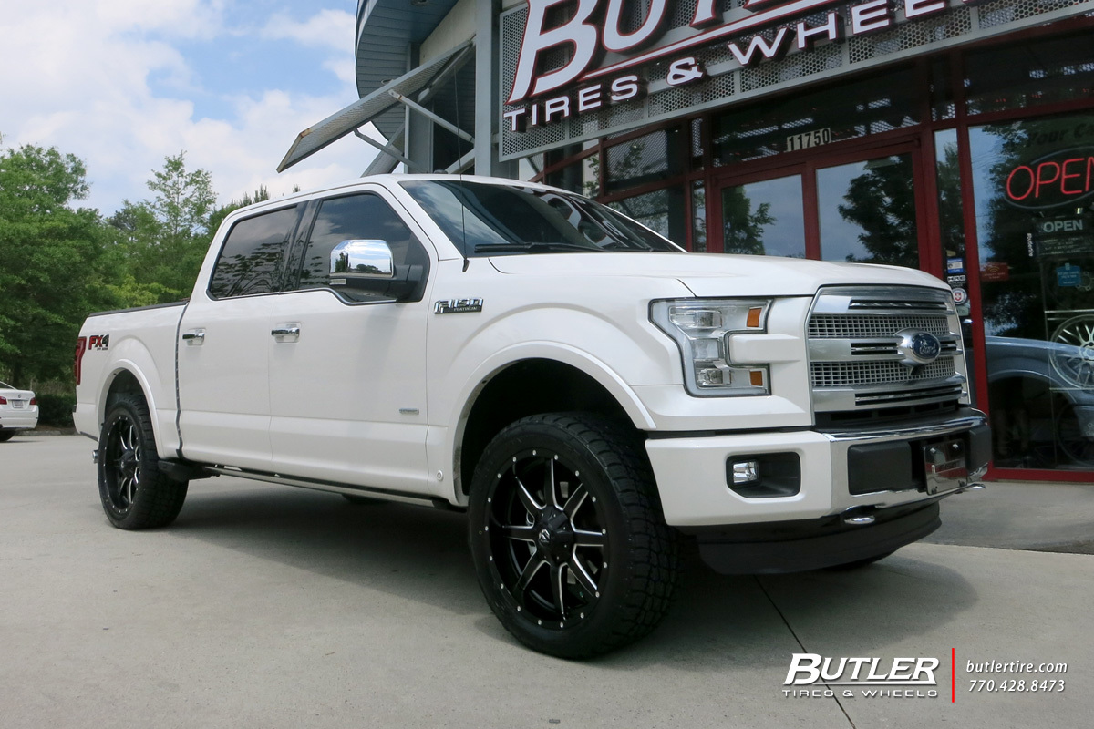 Ford F150 with 22in Fuel Maverick Wheels exclusively from ...