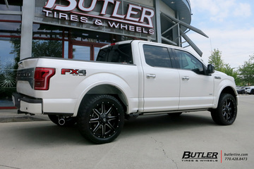 Ford F150 with 22in Fuel Maverick Wheels