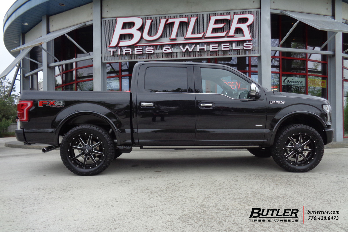 Ford F150 With 22in Fuel Maverick Wheels Exclusively From Butler Tesla Pickup Wiring Diagrams