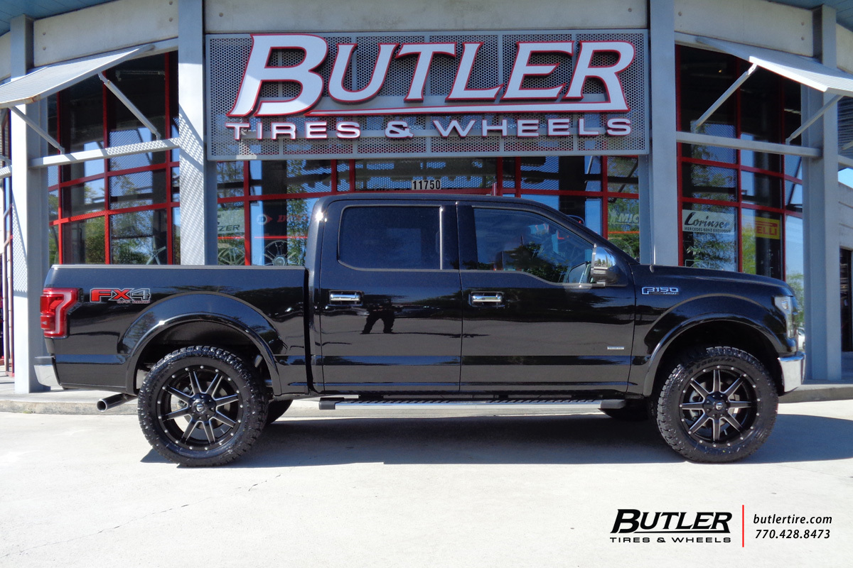 Ford F150 With 22in Fuel Maverick Wheels Exclusively From Butler