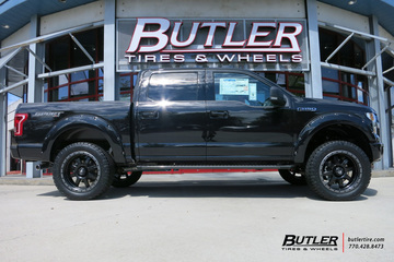 Ford F150 with 22in Fuel Trophy Wheels