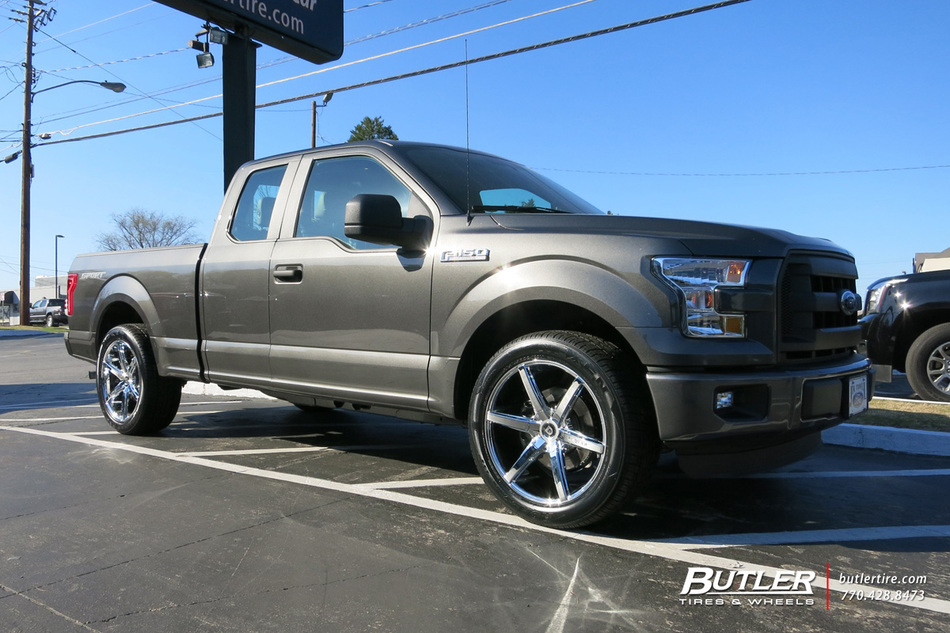 2016 Jeep Truck >> Ford F150 with 22in Lexani R-Six Wheels exclusively from ...