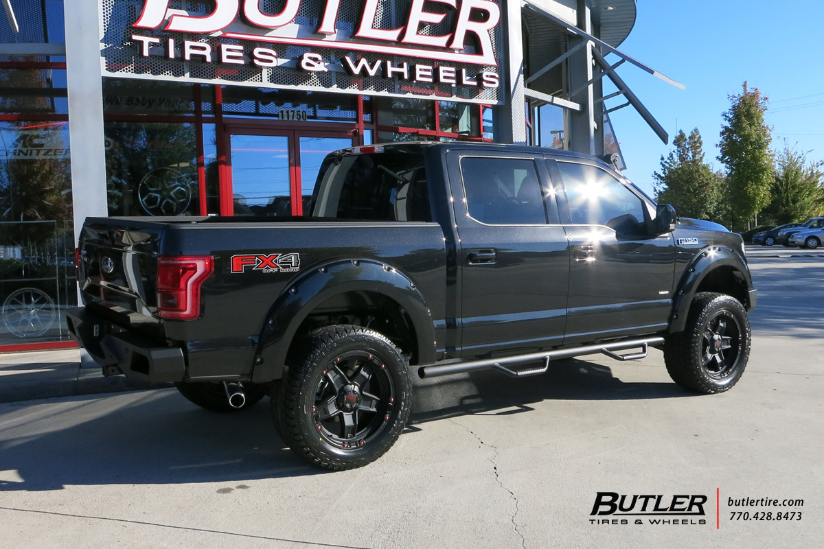Ford F150 with 22in Tuff T10 Wheels