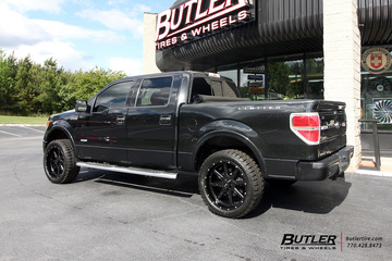 Ford F150 with 22in Tuff T15 Wheels