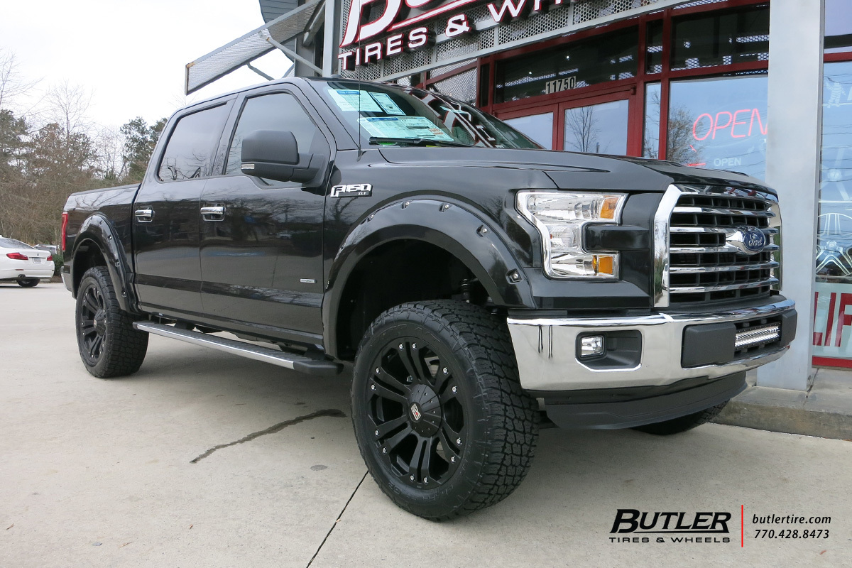 Ford F150 with 22in XD Monster Wheels