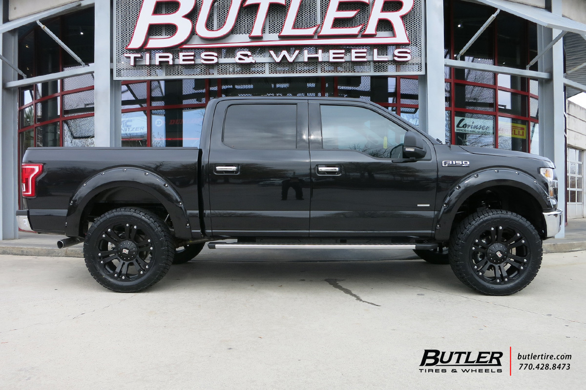 ford f150 with 22in xd monster wheels exclusively from butler tires and wheels in atlanta ga. Black Bedroom Furniture Sets. Home Design Ideas