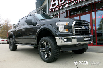 Ford F150 with 22in XD Rockstar II Wheels