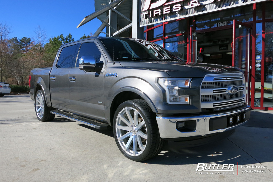 ford f150 with 24in black rhino traverse wheels. Black Bedroom Furniture Sets. Home Design Ideas