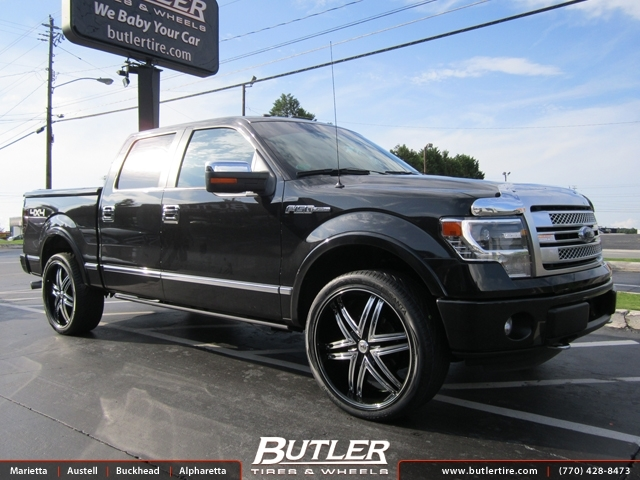 Ford F150 with 24in Lexani Advocate Wheels