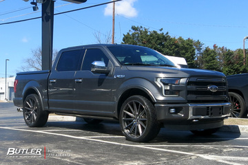 Ford F150 with 24in Vossen HF6-1 Wheels