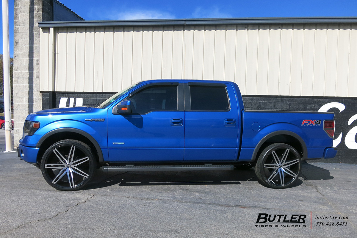 Ford F150 with 26in Lexani Johnson II Wheels