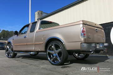 Ford F150 with 26in Lexani R-Four Wheels