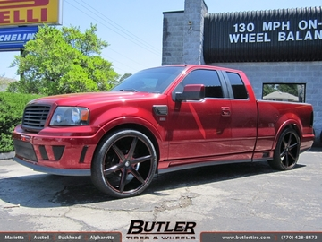 Ford F150 with 26in Lexani R-Six Wheels