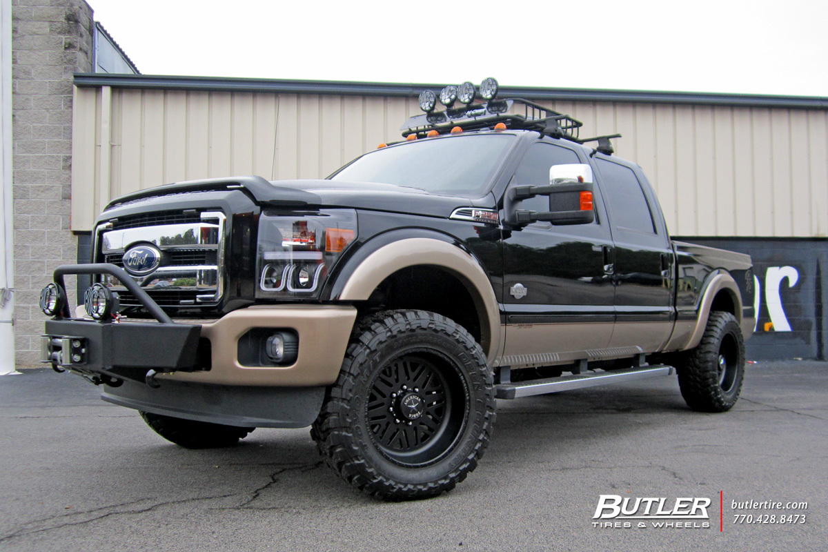 Ford Ranger Tire Size >> Ford F250 with 20in American Force Titan SS Wheels exclusively from Butler Tires and Wheels in ...