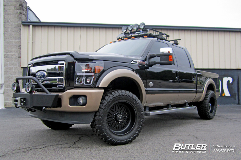 Ford Ranger White 2017 >> Ford F250 with 20in American Force Titan SS Wheels exclusively from Butler Tires and Wheels in ...