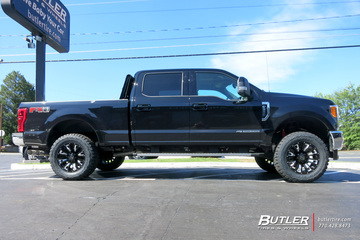 Ford F250 with 20in Black Rhino Pinatubo Wheels