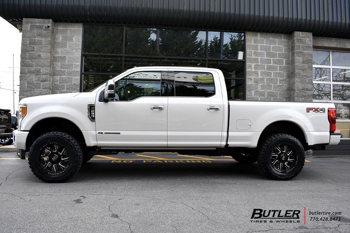 Ford F250 with 20in Black Rhino Reaper Wheels