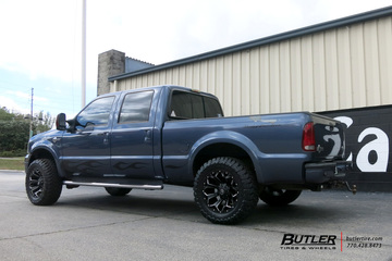 Ford F250 with 20in Fuel Assault Wheels