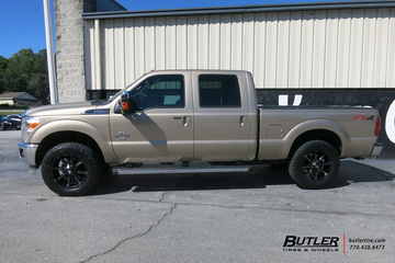 Ford F250 with 20in Fuel Coupler Wheels