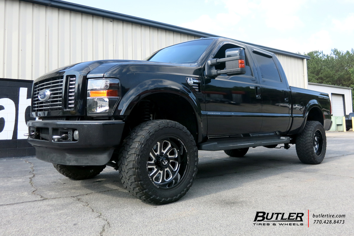 Ford F250 with 20in Fuel Flow Wheels