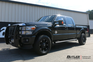Ford F250 with 20in Fuel Hostage Wheels