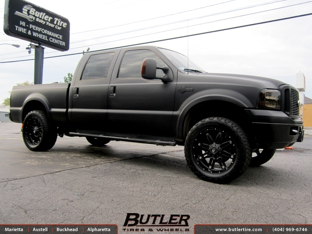 Ford F250 With 22in Fuel Hostage Wheels Exclusively From