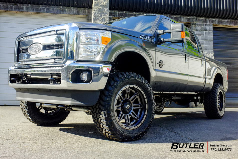 Ford F250 Rims >> Ford F250 with 22in Fuel Hostage II Wheels exclusively from Butler Tires and Wheels in Atlanta ...
