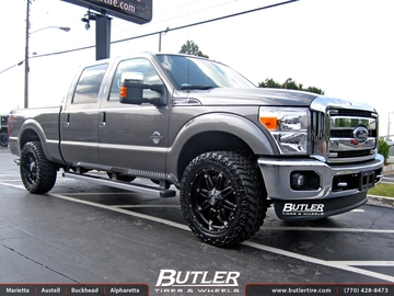 Ford F250 with 22in Fuel Hostage Wheels