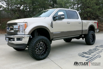 Ford F250 with 22in XD Grenade Wheels