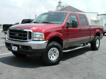 Ford F350 with 16in Axis Regulator Wheels