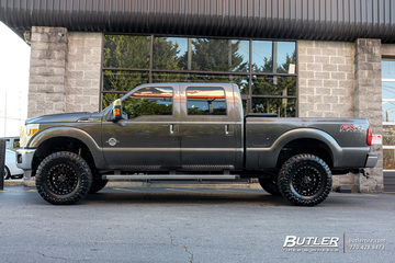 Ford F350 with 17in Black Rhino El Cajon Wheels