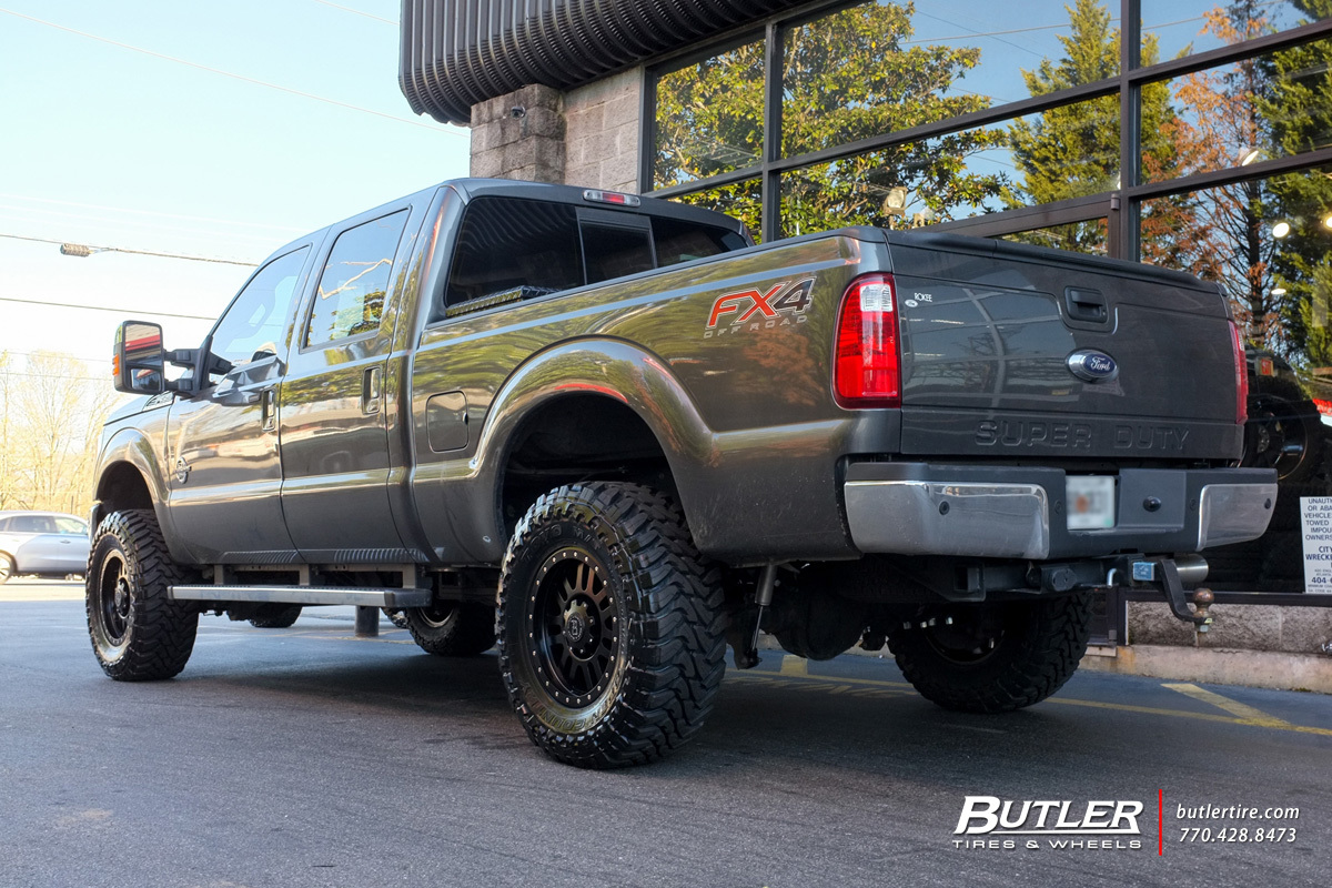 Ford F350 with 18in Black Rhino El Cajon Wheels ...