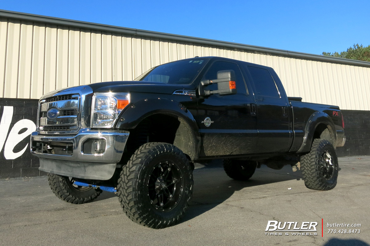 Ford F350 with 20in Fuel Hostage Wheels