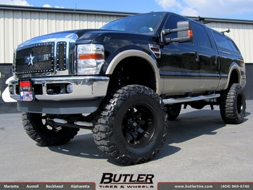 Ford F350 with 20in Fuel Octane Wheels