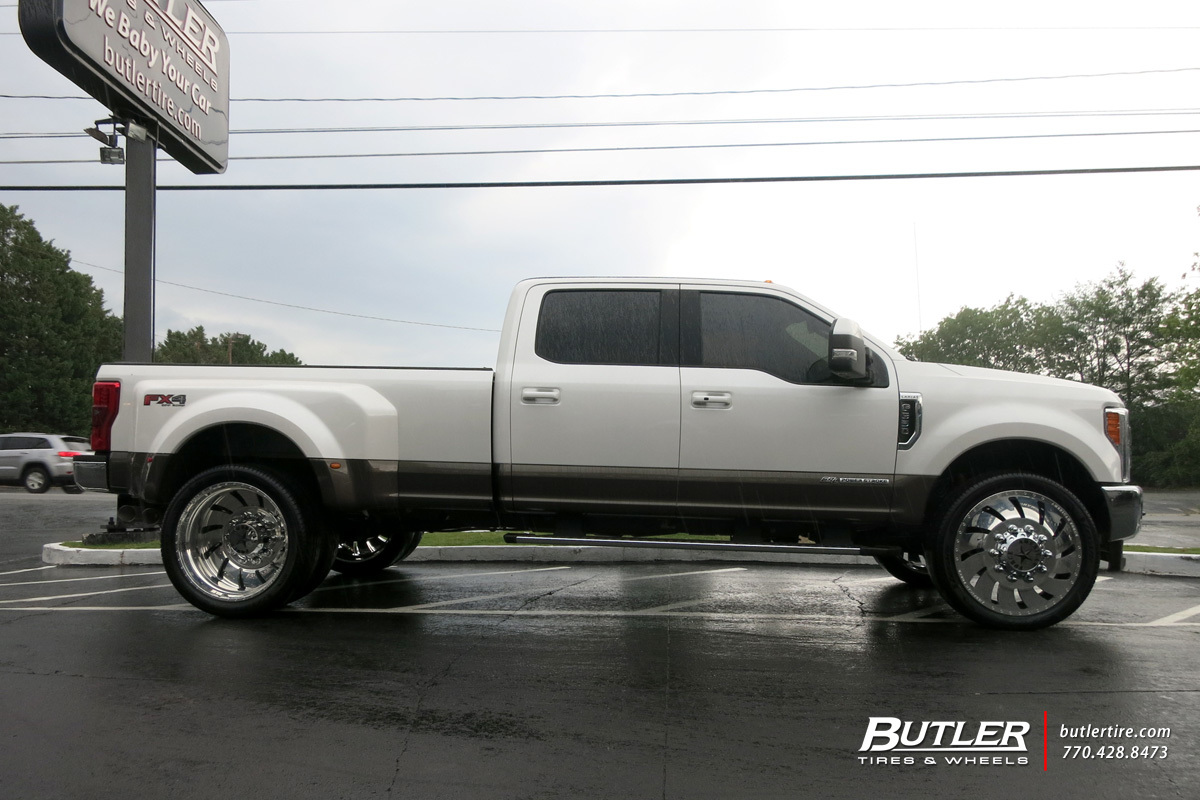 Ford F350 with 26in American Force Concept Wheels