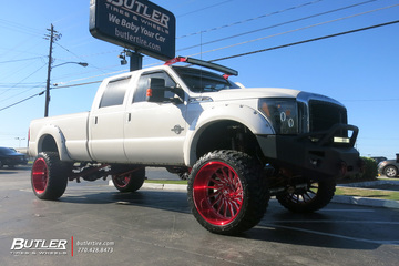 Ford F350 with 26in American Force Morph Wheels