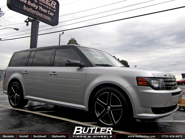 Ford Flex with 20in TSW Rivage Wheels