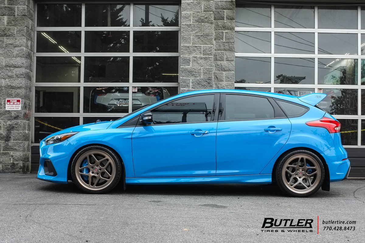 Ford Focus Wheels And Tires >> Ford Focus RS with 19in Vossen LC-104 Wheels exclusively from Butler Tires and Wheels in Atlanta ...