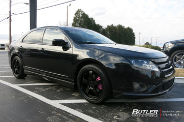 Ford Fusion with 18in TSW Rockingham Wheels
